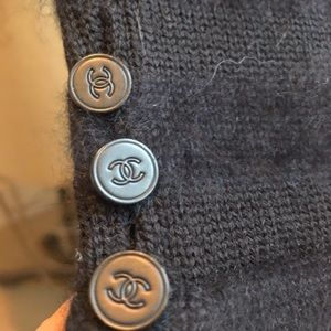 CHANEL Sweaters - CHANEL 100% angora and esconal wool laine sweater